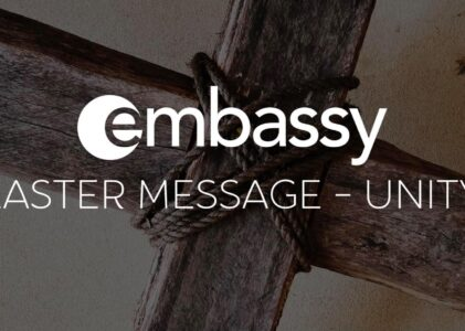 Easter Message: Unity